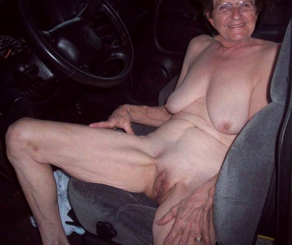 Much old granny naked right! like
